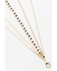 NA-KD - Metallic Multiple Chain Necklace - Lyst