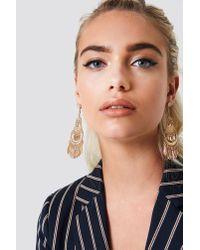 NA-KD - Metallic Oriental Style Earrings - Lyst