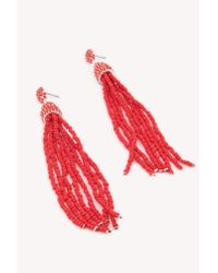 NA-KD - Coloured Beads Tassel Earrings - Lyst