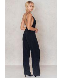 Motel Rocks - Black Cleosa Jumpsuit - Lyst