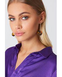 NA-KD - Multicolor Tortoise Shell Octagon Drop Earrings - Lyst