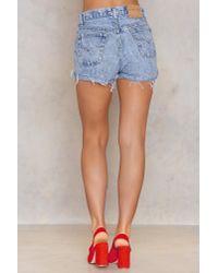 NA-KD - Blue Vintage 501 Levis Shorts - Lyst