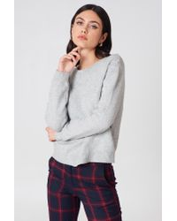 Cheap Monday - Gray Open Knit - Lyst