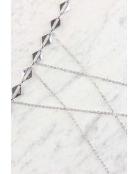 NA-KD | Metallic Drop Body Chain | Lyst