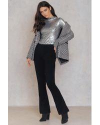 FWSS - Black Pattern Trousers - Lyst