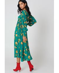 Free People - Green So Sweetly Midi Dress - Lyst