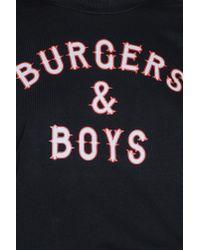 Colourful Rebel - Black Burgers & Boys Boyfriend Sweat - Lyst