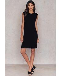 Rut&Circle - Black Geena Rib Dress - Lyst