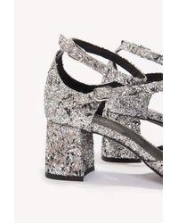 Henry Kole - Metallic Mia Silver Glitter - Lyst