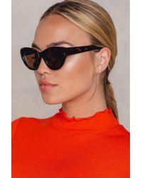 NA-KD | Red Cat Eye Sunglasses | Lyst