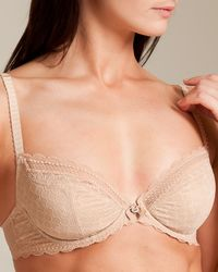 35a1046b41557 Lyst - Chantelle C Chic Sexy 3⁄4 Cup Bra in Natural