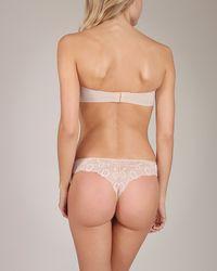 Simone Perele - Pink Caressence Strapless Bra - Lyst