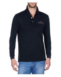 Napapijri | Blue Long Sleeves Polo for Men | Lyst