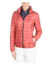Napapijri | Red Short Jacket | Lyst