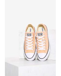 3c403b7a447 Nasty Gal. Women s Pink Converse Chuck Taylor All Star Classic Sneaker ...