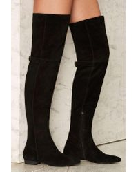 Matisse - Black Ashley Over-the-knee Suede Boot - Lyst