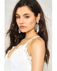 Nasty Gal | Metallic Fall For It Coin Earrings Fall For It Coin Earrings | Lyst