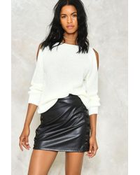 Nasty Gal | Multicolor Knit While You're Ahead Sweater | Lyst
