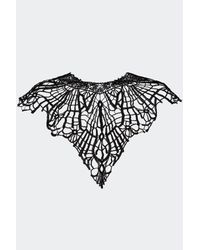Nasty Gal - Black Queen Of The Damned Lace Collar - Lyst