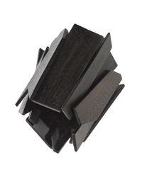 Natori | Black Josie Acacia Wood Geometric Bracelet | Lyst