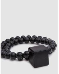 Building Block - Mini Cube Sling In Black - Lyst