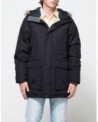 Woolrich | Black Classic Parka for Men | Lyst