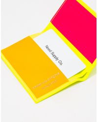 Comme des Garçons - Yellow Super Fluo Leather Sa6400sf for Men - Lyst