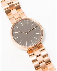 Need Supply Co. | Multicolor M35 Rose Gold Bracelet Watch | Lyst
