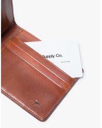 Il Bussetto - Blue Bi-fold Wallet for Men - Lyst