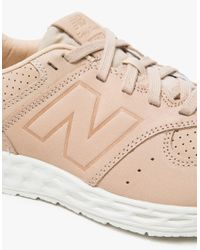 New Balance | 574 In Tan/white | Lyst