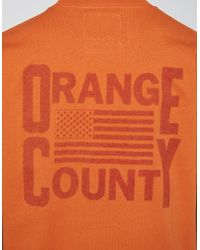 Vans | Our Legacy Ss Tee In Orange for Men | Lyst