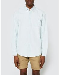 Obey | White Keble Ii Woven Ls for Men | Lyst