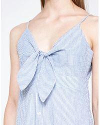 Farrow - Blue Ida Dress - Lyst
