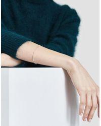 Kathleen Whitaker - Metallic Silver Snake Chain Bracelet - Lyst