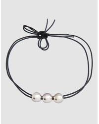 Sophie Buhai - Metallic Small Moon Choker Necklace - Lyst