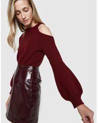 Stelen - Red Saskia Sweater In Wine - Lyst