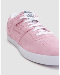 Reebok - Pink Workout Clean Fvs Billys - Lyst