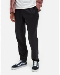 A Kind Of Guise - Blue Elasticated Wide Trousers for Men - Lyst