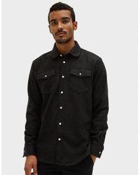 Soulland - Black Tom Western Shirt for Men - Lyst