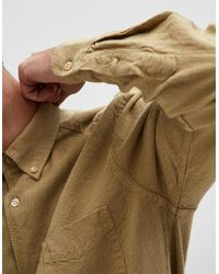 Our Legacy - Natural 1950's Shirt Khaki H.a. Oxford for Men - Lyst