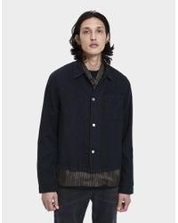 fd95ed7764034 Our Legacy Shrunken Button Up Shirt in Black for Men - Lyst