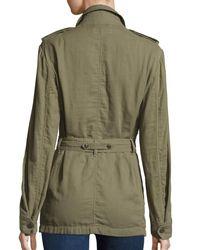 Rag & Bone - Green Bennett Utility Army Jacket - Lyst