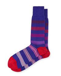 Paul Smith | Red Grad Multicolor Polka Dot Socks for Men | Lyst