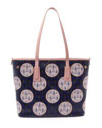 Liberty - Blue Little Marlborough Polka-dot Iphis Tote Bag - Lyst