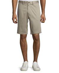 Vince - Gray Cotton Sateen Urban Short for Men - Lyst