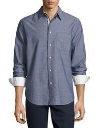 Rag & Bone | Blue Beach Button-front Shirt for Men | Lyst
