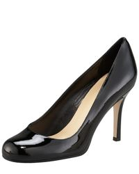 kate spade new york | Natural Karolina Patent Pump | Lyst