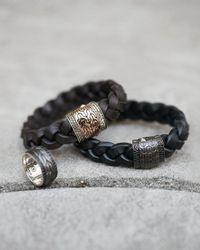John Hardy - Metallic Black Bronze Sapphire Spinning Ring for Men - Lyst