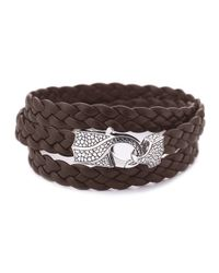 Stephen Webster | Brown Rayman Multi-wrap Men's Bracelet for Men | Lyst