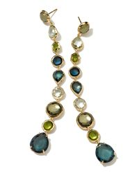 Ippolita - Green 18k 9-tier Gelato Earrings - Lyst